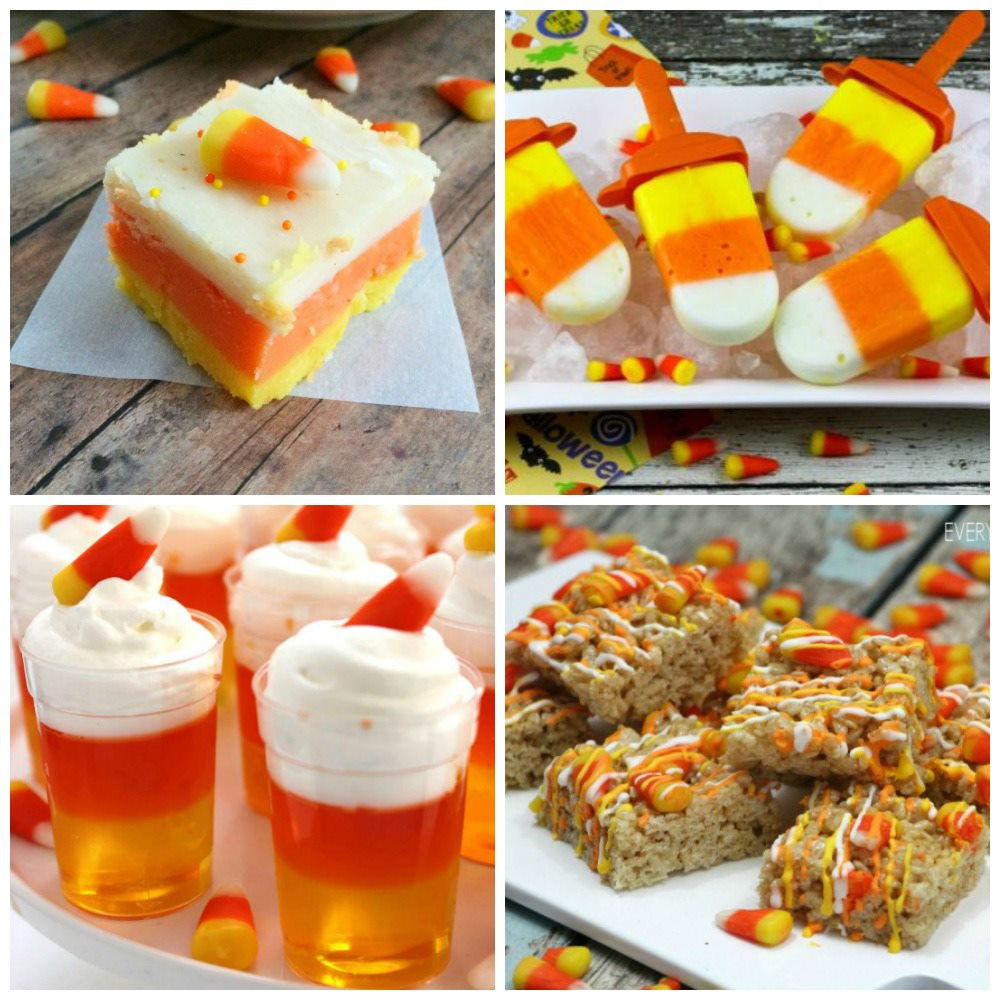 Halloween Candy Corn Recipes
